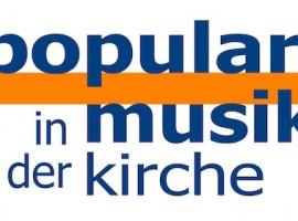Logo: Popularmusik in der Kirche